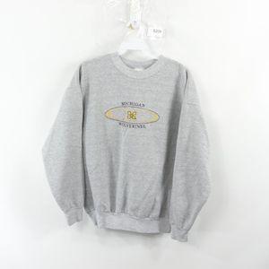 90s Mens Small University of Michigan Sweatshirt